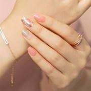 [하또하또핏 네일] 핑크무드자개