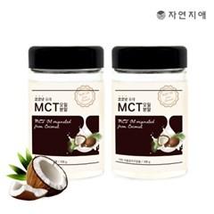 자연지애 코코넛 유래 MCT 오일분말 100mlX2_(2669758)