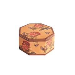 전통민화 나비 팔각상자 소