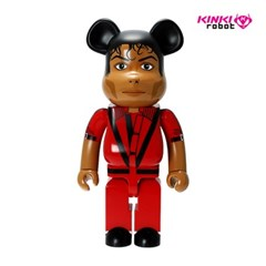 [KINKI ROBOT]1000%BEARBRICK MICHAEL JACKSON RED JACKET (1908004)