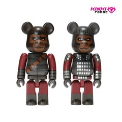 [KINKI ROBOT]100%BEARBRICK GENERAL URSUS & SOLDIER APE 2PACK(190