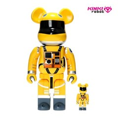 [KINKI ROBOT]400%&100%BEARBRICK SPACE SUIT YELLOW VER SET(190700