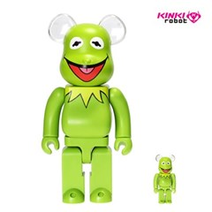 [KINKI ROBOT]400%+100%BEARBRICK KERMIT THE FROG (1904004)