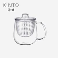 킨토 유니머그 티머그 450ml - 클리어_(1421768)