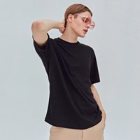 FRESH BASIC T-SHIRTS_BLACK