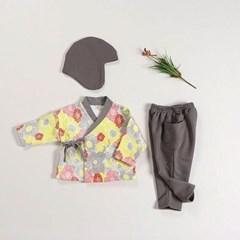 새꽃 남매한복