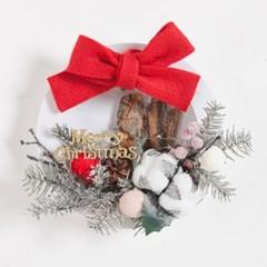 네츄럴스노우목화액자set 26cmP 크리스마스 TRFAHM_(1415107)