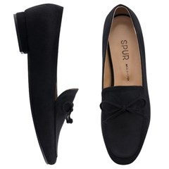 SPUR[스퍼] 로퍼 OF7009 Classic bow loafer 블랙