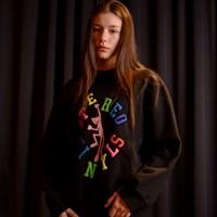 [FW19 Pink Panther] Jumping PP Sweatshirts(Black)_(703976)
