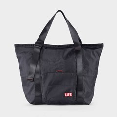 LIFExR PACKABLE TOTE 506_ARMY, BLACK_(1424741)