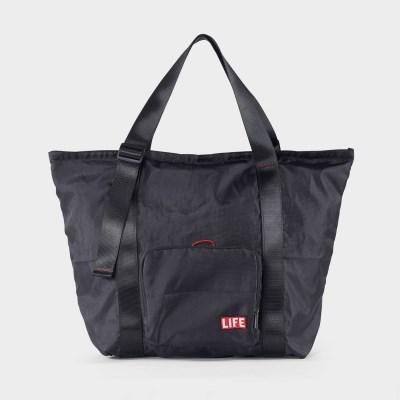 라이프x로우로우 패커블 가방 - 블랙
