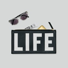 LIFE LOGO CLUTCH_BLACK_(1424736)