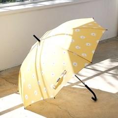 프린트 우산 - 비숑옐로우