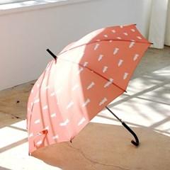 프린트 우산 - 악어레드