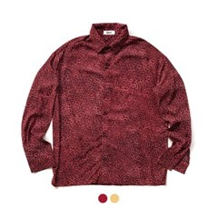 오버핏 레오파드 셔츠 Over Fit Leopard Shirt (2color)