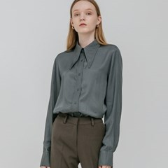 WIDE BLOUSE_GREEN