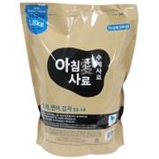 아침애 수제사료 오리,연어,감자 1.8kg_(1167270)