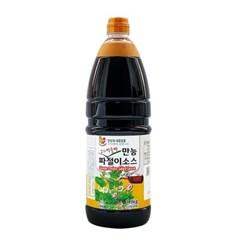 청우 첫맛 만능 파절이 소스 1.9kg
