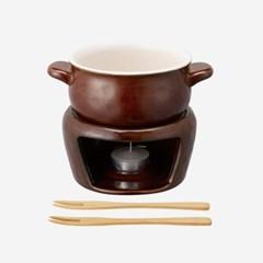 킨토 호쿠리(HOKKURI) 치즈퐁듀 세트 - 브라운_(1422618)