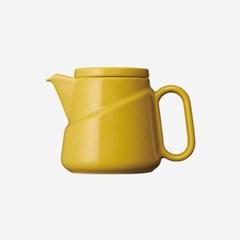 킨토 릿지 컬러 티백 포트 350ml - 옐로우_(1422612)