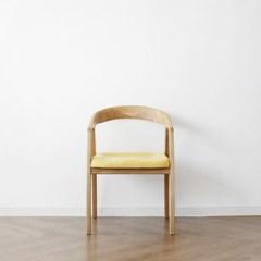 [오크] D형 의자 옐로우_(1364944)