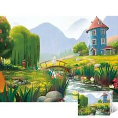 무민 숲속 정원 [500피스/직소퍼즐/TPD05-502]_(976991)