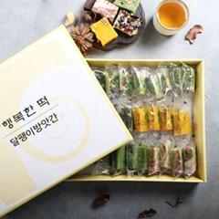 [달팽이 방앗간] 한입영양 찰떡 6종 선물세트 (30개입)