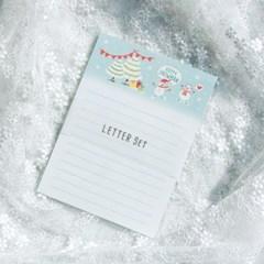 디원 눈사람 편지지 (JL24)