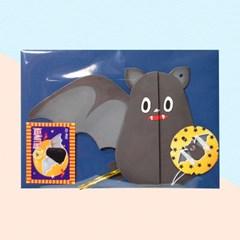 디원 할로윈 박쥐 허니컴카드(JHW02)