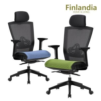 핀란디아 클라이 CT30B 에어 학생사무용 의자(헤드형)_(1211785)