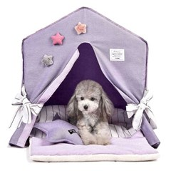 펫데일리 강아지 고양이 호텔 하우스 시리즈 - 스카이 라운지 호텔