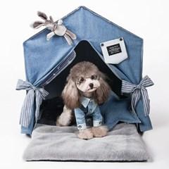 펫데일리 강아지 고양이 호텔 하우스 시리즈 - 레빗 홀 호텔 하우스
