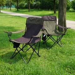 지오프리 1+1 하이랜드 암레스트 캠핑 의자 GF319001S 낚시 팔걸이