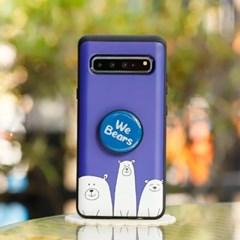 아이폰6s플러스 OsoAzul 스마트 그립톡 카드 범퍼 케이스