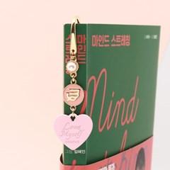 [선물포장] 탄생석 + 별자리 북마크 베이비핑크