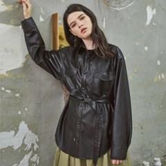 Classy Standard Leather Jacket Black