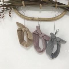 [베이비](FA)도트꼬임리본밴드[FREE]_(1681858)
