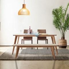 셀리 자작나무 원목 6인용 식탁 세트 A_(2139991)