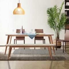 셀리 자작나무 원목 8인용 식탁 세트 A_(2139994)