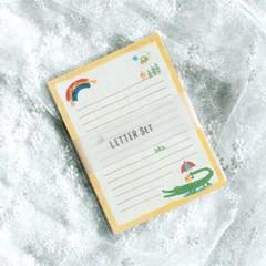 디원 악어와 새 편지지 (YL30)
