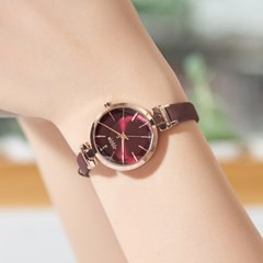[쥴리어스] JA-1182 여성시계 손목시계 가죽밴드