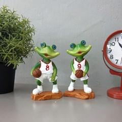 농구하는 개구리 2P세트