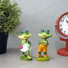 나들이 개구리 2P세트