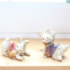 미니 2P 토끼