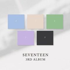 5종세트/포스터/ 세븐틴 - 정규 3집 앨범 SEVENTEEN 3RD ALBUM
