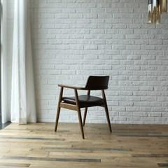빌치 고무나무 원목 식탁 의자_(1265082)