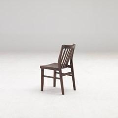 커키 고무나무 원목 식탁 의자 B타입_(1265081)