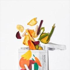 [밀라이트] 튀기지 않은 10가지 야채과일 믹스칩