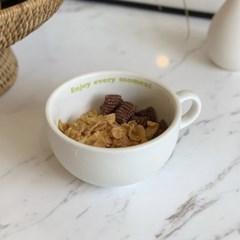 enjoy cereal bowl