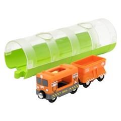 브리오 터널과 화물기차(33891)